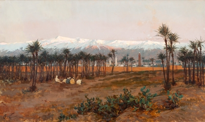 """""""Marrakech"""", 1894. Enrique Simonet y Lombardo"""