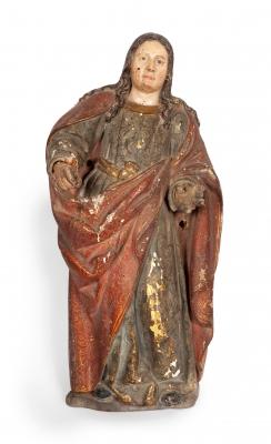 """""""San Juan Evangelista"""" Escuela española del siglo XVII."""