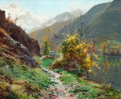 """""""Camino de Dorbe (Vall d'Aneo)"""" ELÍAS GARRALDA ALZUGARAY"""