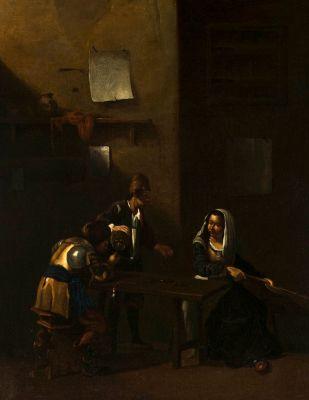 Escuela holandesa del siglo XVIII. Después de CORNELIS PIETERSZ BEGA (Haarlem 1631/32–1664).