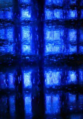 DMITRY SAVCHENKO (Russia, 1970).Black and Blue Geometry.