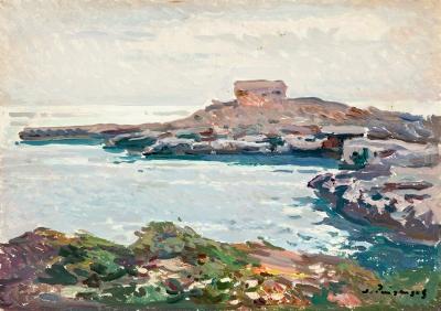 """Ciutadella. Menorca"".  JOSEP PUIGDENGOLAS BARELLA"
