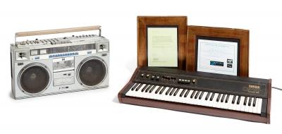 Teclado Yamaha CP10 Electronic Piano y Radio Casete JVC...