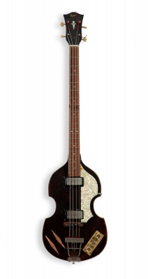 Electric guitar. Bass Hofner.