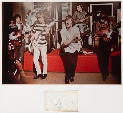 Fotografía original de época del grupo The Rolling Ston...
