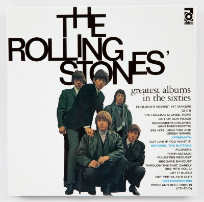The Rolling Stones: Greatest albums in the sixties.