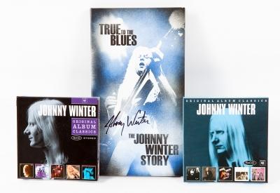 JOHNNY WINTER. Conjunto de Box Sets recopilatorios del estadounidense Johnny Winters, que incluye:.