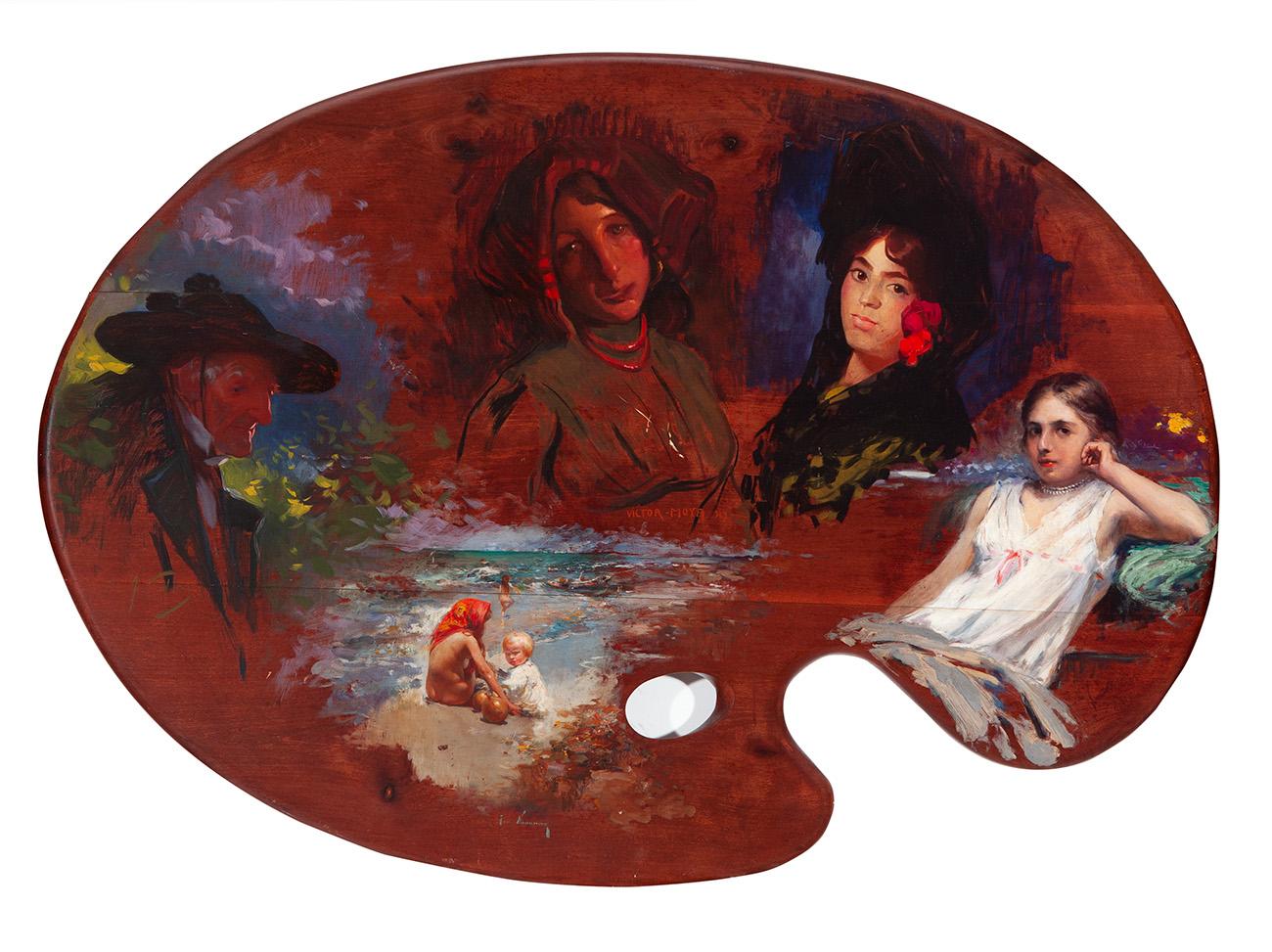 JOSÉ NAVARRO LLORENS (Valencia, 1867 – 1923), VICTOR MO...