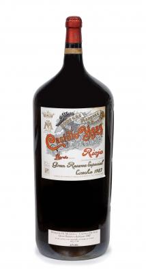 Botella de Marqués de Murrieta Castillo Ygay, Reserva Especial 1987