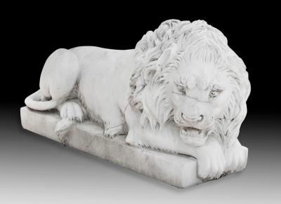 Leòn. Escultura en mármol.