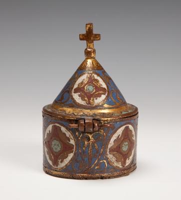 Píxide Románico. Limoges, Francia, siglo XII-XIII.