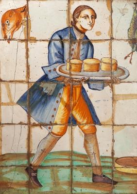 Plafón. Valencia, siglo XVII.