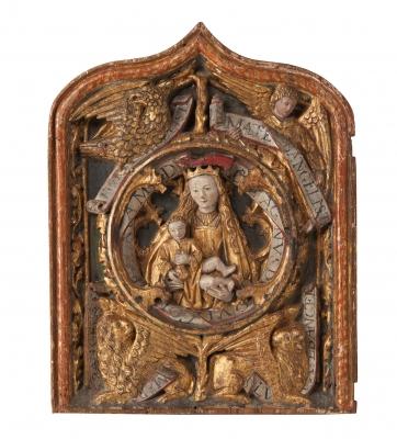 Puerta de tabernáculo Gótico.