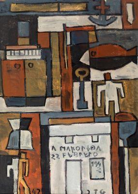JOAQUIN TORRES GARCÍA (Montevideo, Uruguay, 1874 - 1949).
