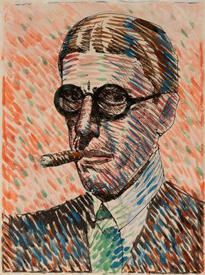 JOAQUIN TORRES GARCÍA (Montevideo, Uruguay, 1874 – 1949).
