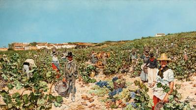 SALVADOR CLEMENTE (Cádiz, 1859- Madrid, 1909).