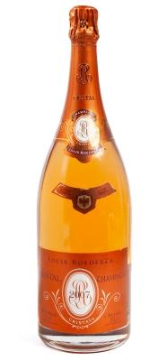 Botella de Louis Roederer Cristal Magnum 2007.
