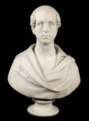 Italian  school, ca. 1840Italian white marble.