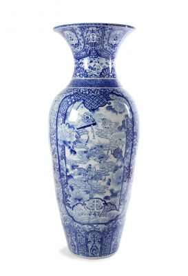 Gran jarrón.China, finales del siglo XIX-principios del siglo XX.
