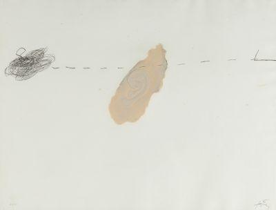 """""""Orella"""", 1972. ANTONI TÀPIES PUIG"""