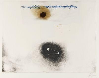 """ANTONI TÀPIES PUIG (Barcelona, 1923 - 2012). """"Llull-T? pies"""", 1985."""