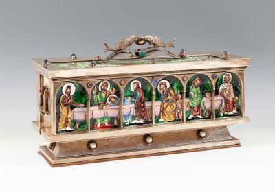 Importante caja de principios del s. XX