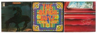 "THE BEACH BOYS, 3 Álbumes con 3 LPs de vinilo.  ""Carl and the Passions."