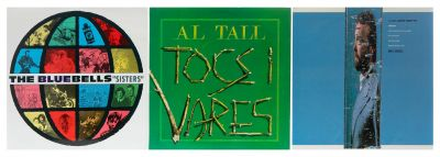 ROCK POP 3 Albums with 3 vinyl LPs.This lot is formed by Rock Folk groups: John Martyn, TheBluebells and Al Tall.