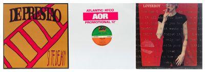 HARD ROCK. 3 albums with 3 vinyl LPs.