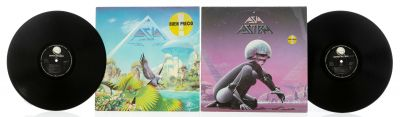 ASIA. 2 albums with 2 vinyl LPs.
