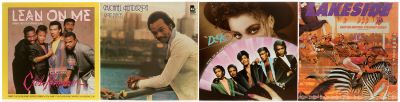 R&B. 4 albums with 4 vinyl LPs.