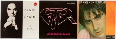 ROCK. 3 albums with 3 vinyl LPs.