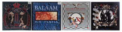 BALAAM AND THE ANGEL. 4 Álbumes con 4 LPs de vinilo.
