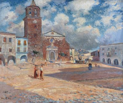 IVO PASCUAL RODÉS (Vilanova i la Geltrú, Barcelona, 1883 - Riudarenes, Girona, 1949).