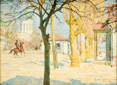 EVGENI EVGENIEVICH LANCERAY (Pávlovsk, 1875- Moscow, 1946).