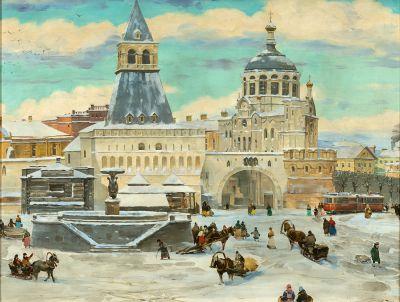KONSTANTIN FEDOROVIC JUON (Moscow, 1875 - 1958).