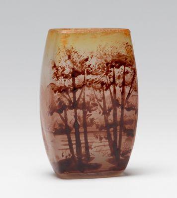 Art Nouveau miniature vase. France, ca.