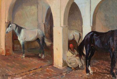MARIANO BERTUCHI NIETO (Granada, 1884 - Tetouan, 1955).
