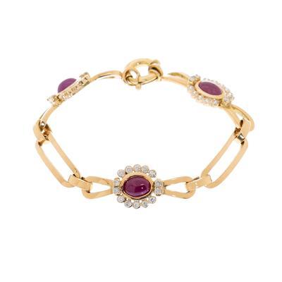 Diamantes, rubíes y oro