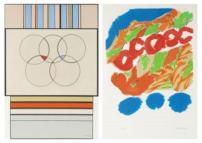 CARMELO ARDEN QUINN (Uruguay, 1913 - France, 2010) and YASSE TABUCHI (Japan 1921 - France, 2009).Untitled, 1992.
