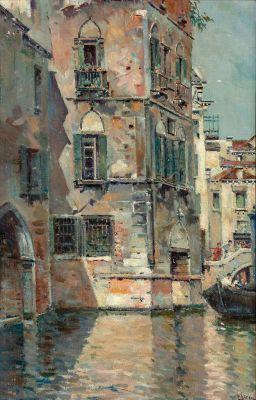 ANTONIO REYNA MANESCAU (Coín, Málaga, 1859 - Rome, 1937).