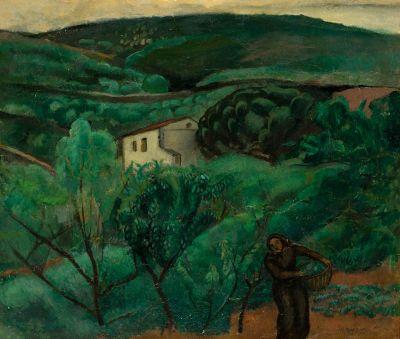 JOAQUIM SUNYER DE MIRÓ (Sitges, Barcelona, 1874 – 1956).