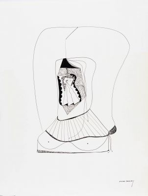 ELENA PAREDES (Rosario de Santa Fe, Argentina, 1912 - Barcelona, 2006).