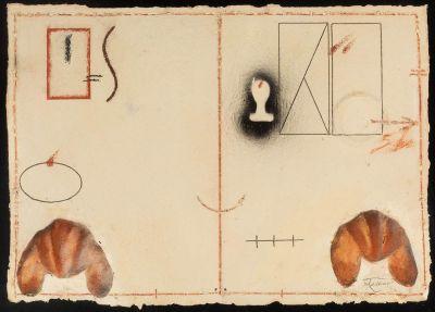 JOAN PERE VILADECANS (Barcelona, 1948).Untitled, 1980.