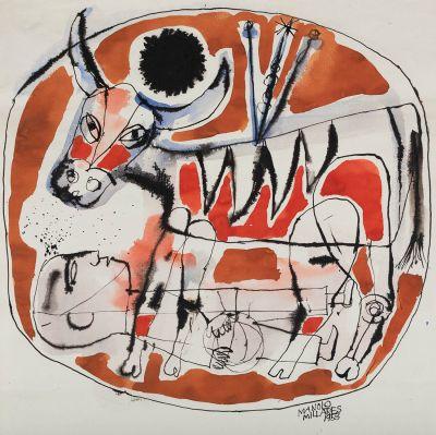 MANOLO MILLARES SALL (Las Palmas de Gran Canaria, 1936 - Madrid, 1972).