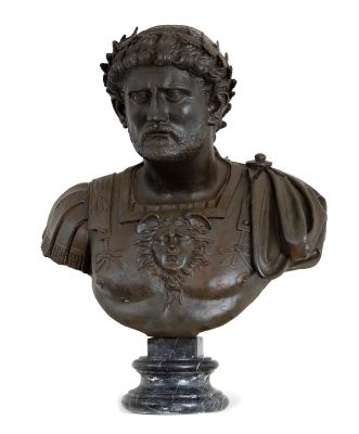 19th century bust.