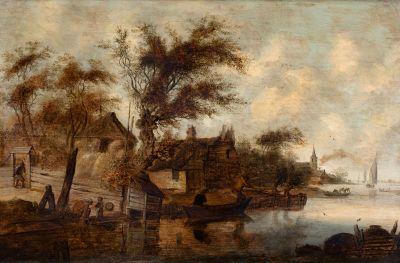 JAN JOSEPHSZOON VAN GOYEN (Leiden, 1596- The Hague, 1656).