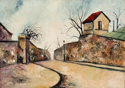 """ELISÉE MACLET. """"Calle de Montmartre""""."""