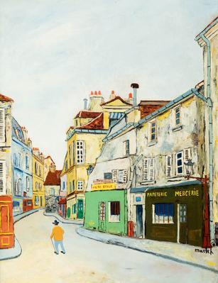 """""""Calle de Montmartre"""".  ELISÉE MACLET"""