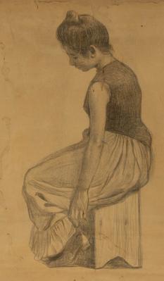 JOAN LLIMONA. Dibujo al carbón